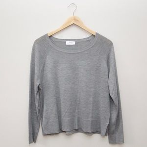 Zara gray lightweight sweater